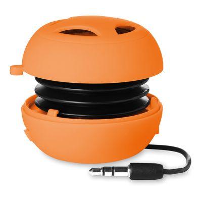 Mini hangszóró kábellel, narancs
